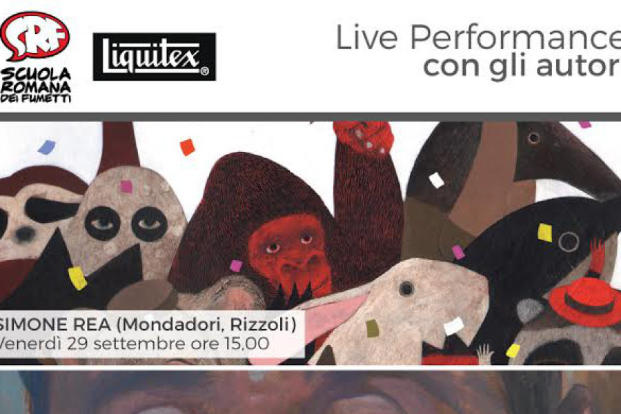 La SRF @ Romics: LIQUITEX LIVE PERFORMANCE