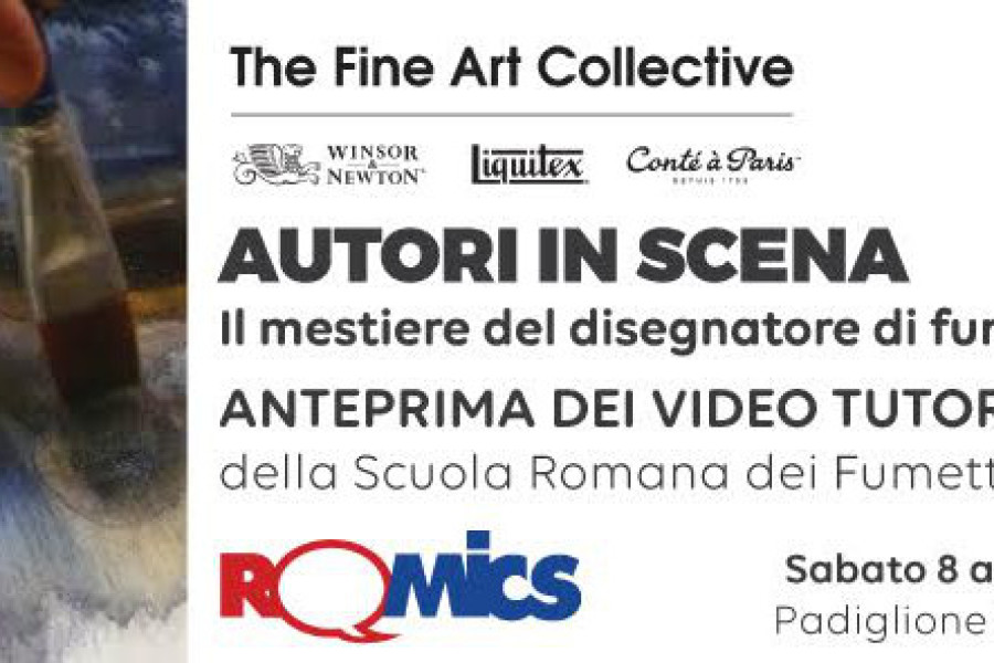La SRF @ Romics: ANTEPRIMA VIDEO TUTORIAL