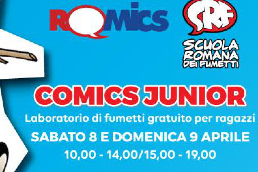 La SRF @ Romics: COMICS JUNIOR
