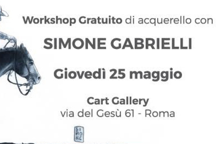 SIMONE GABRIELLI – Workshop