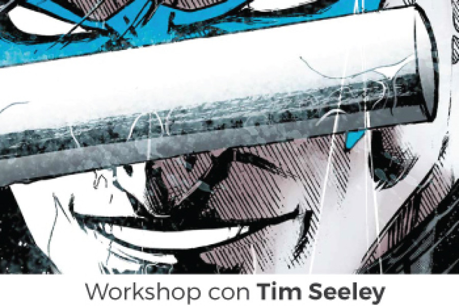 WORKSHOP con TIM SEELEY (DC Comics) 7 novembre ROMA