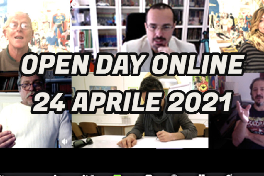 OPEN DAY ONLINE – 24 APRILE 2021